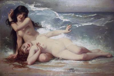 Catching Waves-Paul Albert Laurens-Giclee Print