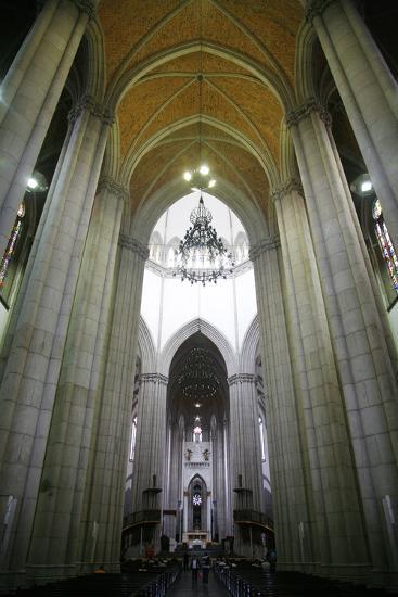 Catedral da Se, Sao Paulo, Brazil, South America-Yadid Levy-Photographic Print
