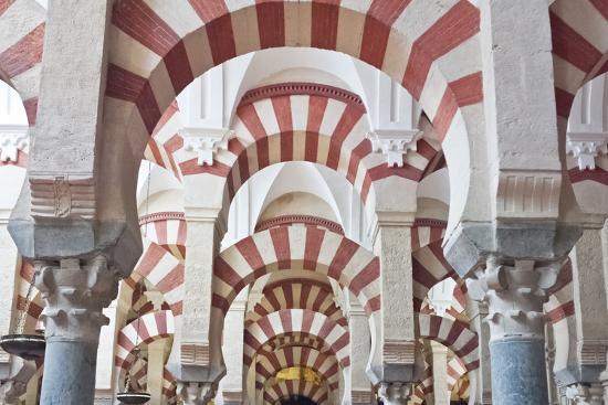 Catedral Mosque of Cordoba, Interior, Cordoba, Andalucia, Spain-Rob Tilley-Photographic Print