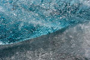 Atlantic Coast with Iceberg Remains at the J?kulsarlon by Catharina Lux