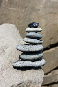 Balance, Stone Heap, Symbol by Catharina Lux