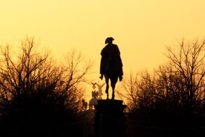Berlin, Unter Den Linden, Equestrian Statue Frederick the Great, Quadriga, Victoria by Catharina Lux