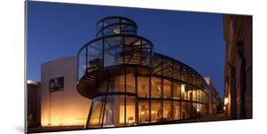 Berlin, Zeughaus, Deutsches Historisches Museum, Pei Building, Panorama, Evening by Catharina Lux