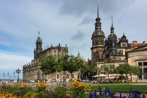 Dresden, Summer, Dresden Cathedral, Castle by Catharina Lux