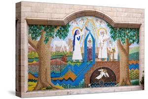 Egypt, Cairo, Coptic Old Town, Church El Muallaqa, the Hanging Church, Mosaics of Biblical Scenes by Catharina Lux