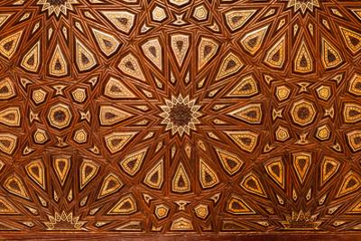 Egypt, Cairo, Sultan Hasan Mosque, Mausoleum, Tomb Ornament, Ornamental Art by Catharina Lux