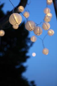 Garden Party, Chain of Lights by Catharina Lux