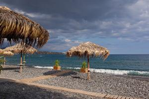 Greece, Crete, Lapetra, Beach Restaurant by Catharina Lux