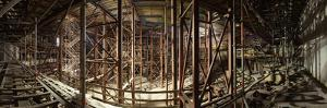 Hamburg, Panorama, Elbphilharmonie, Interior Scaffolding, Roof by Catharina Lux