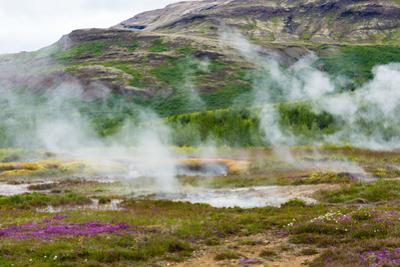 Iceland, Geothermal Field, Geyser
