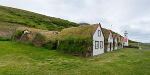 Panorama, Turf House Laufas by Catharina Lux