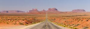 Panorama, USA, Monument Valley, Highway by Catharina Lux