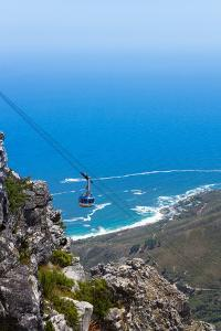 South Africa, Cape Town, View from the Table Mountain, Cableway by Catharina Lux