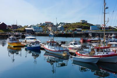 Stykkisholmur, Peninsula Snaefellsnes, Harbour