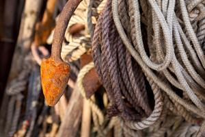 The Baltic Sea, Fishing, Ropes and Hooks by Catharina Lux