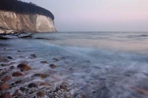 The Baltic Sea, National Park Jasmund, Beach and Chalk Rocks by Catharina Lux