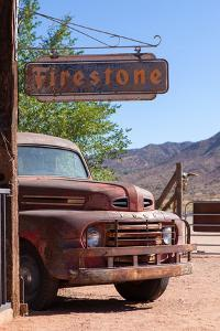 USA, Arizona, Route 66, Hackberry, Rusted Ford by Catharina Lux