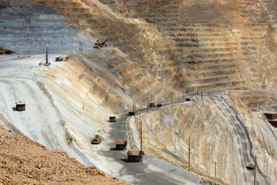 USA, Bingham Canyon Mine, the Biggest Copper Mine of the World