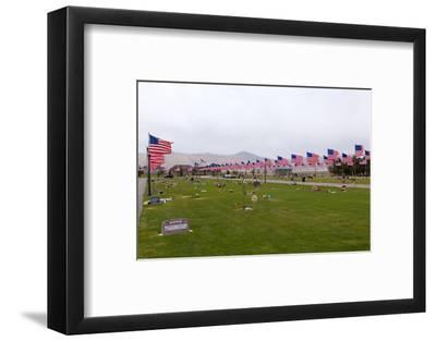 USA, Cemetery, Memorial-Day, Flags