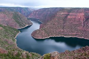 USA, Wyoming, Flaming Gorge, Reservoir by Catharina Lux