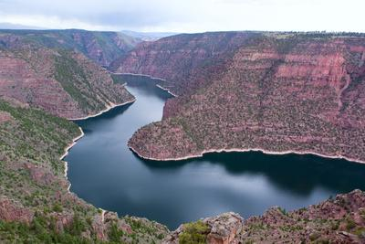 USA, Wyoming, Flaming Gorge, Reservoir