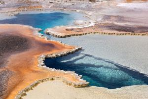 USA, Yellowstone National Park, Geyser Hill by Catharina Lux