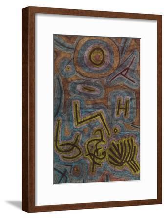 Catharsis (Katharsis). 1937, 40-Paul Klee-Framed Giclee Print