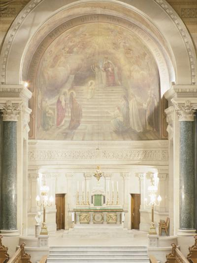 Cathedral Altar Montreal--Photographic Print