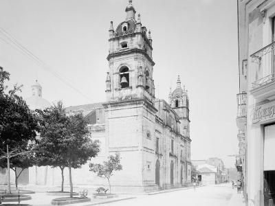Cathedral and Jovellanos St., Matanzas, Cuba--Photo