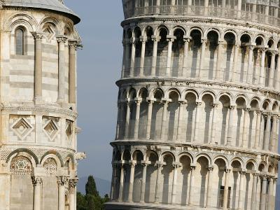 Cathedral and Leaning Tower of Pisa-Fred de Noyelle-Photographic Print