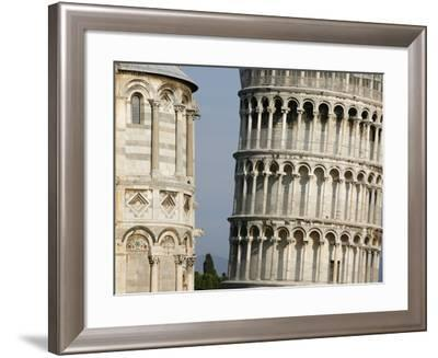 Cathedral and Leaning Tower of Pisa-Fred de Noyelle-Framed Photographic Print