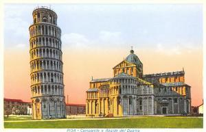 Cathedral and Tower of Pisa, Italy