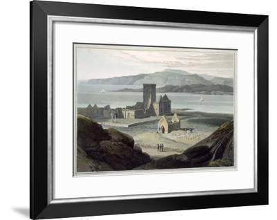 Cathedral at Iona, c.1817-Thomas & William Daniell-Framed Giclee Print
