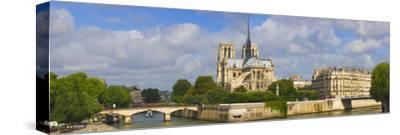 Cathedral at the Riverside, Notre Dame Cathedral, Seine River, Paris, Ile-De-France, France