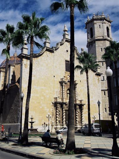 Cathedral, Benicarlo, Valencia, Spain-Sheila Terry-Photographic Print