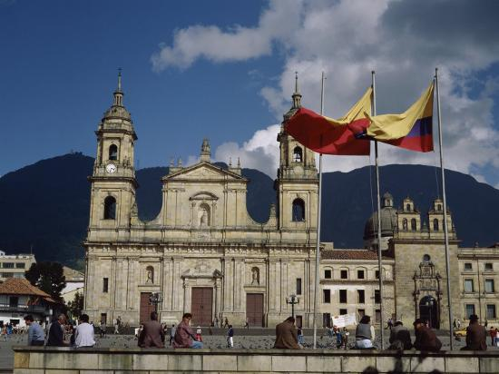 Cathedral, Bogota, Colombia--Photographic Print