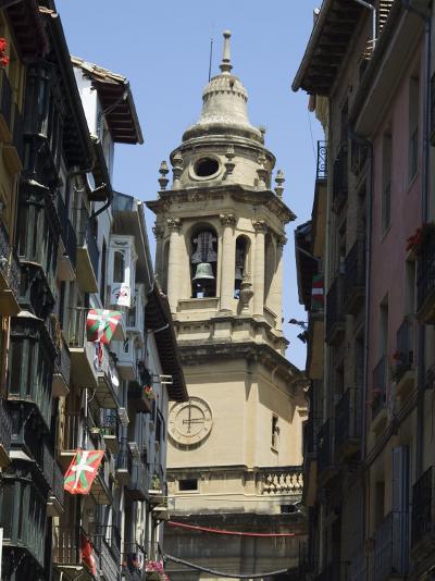 Cathedral Church, Pamplona, Navarra, Euskadi, Spain-Christian Kober-Photographic Print