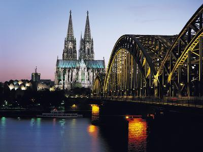 Cathedral, Cologne, Germany-Gavin Hellier-Photographic Print