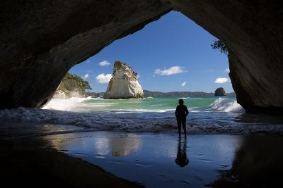 Cathedral Cove, Hahei, Coromandel Peninsula, Waikato, North Island, New Zealand, Pacific-Stuart-Photographic Print