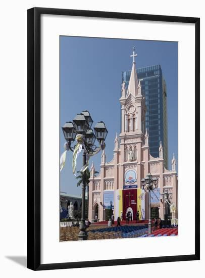 Cathedral, Danang, Vietnam, Indochina, Southeast Asia, Asia-Rolf Richardson-Framed Photographic Print