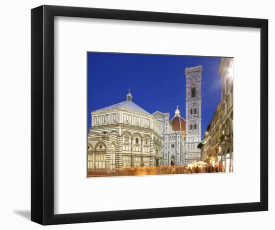 Cathedral (Duomo), Florence, UNESCO World Heritage Site, Tuscany, Italy, Europe-Vincenzo Lombardo-Framed Photographic Print
