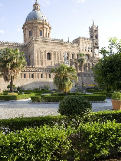 Cathedral Gardens, Palermo, Sicily, Italy, Europe-Olivieri Oliviero-Photographic Print