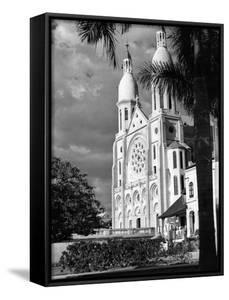 Cathedral in Port-Au-Prince, 1952