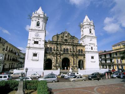 Cathedral in the Old City, San Felipe District, Panama City, Panama, Central America-Sergio Pitamitz-Photographic Print