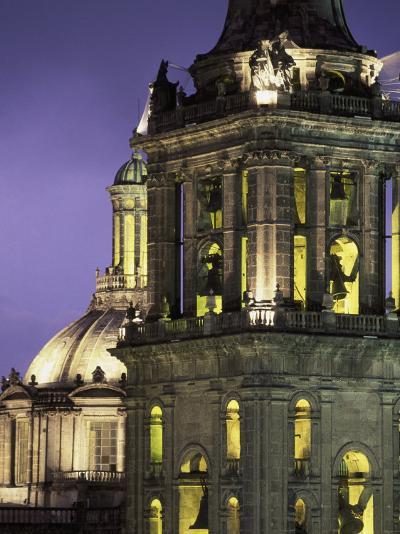 Cathedral Metropolitana, Mexico City, Mexico-Walter Bibikow-Photographic Print