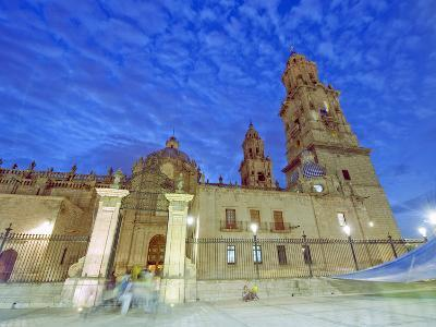 Cathedral, Morelia, Michoacan State, Mexico, North America-Christian Kober-Photographic Print