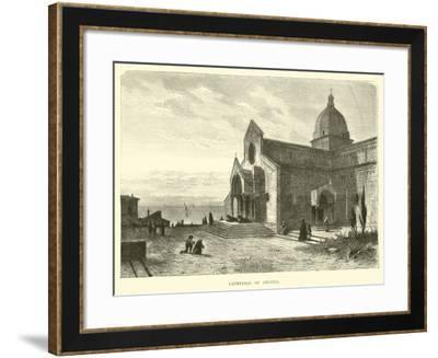 Cathedral of Ancona--Framed Giclee Print