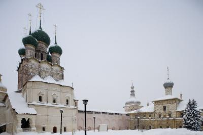 Cathedral of Assumption (16th Century) at Kremlin (12th Century)--Photographic Print
