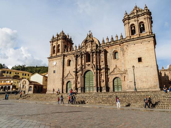 Cathedral of Cusco, UNESCO World Heritage Site, Cusco, Peru, South America-Karol Kozlowski-Photographic Print