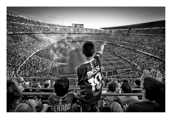 Cathedral Of Football-Clemens Geiger-Giclee Print